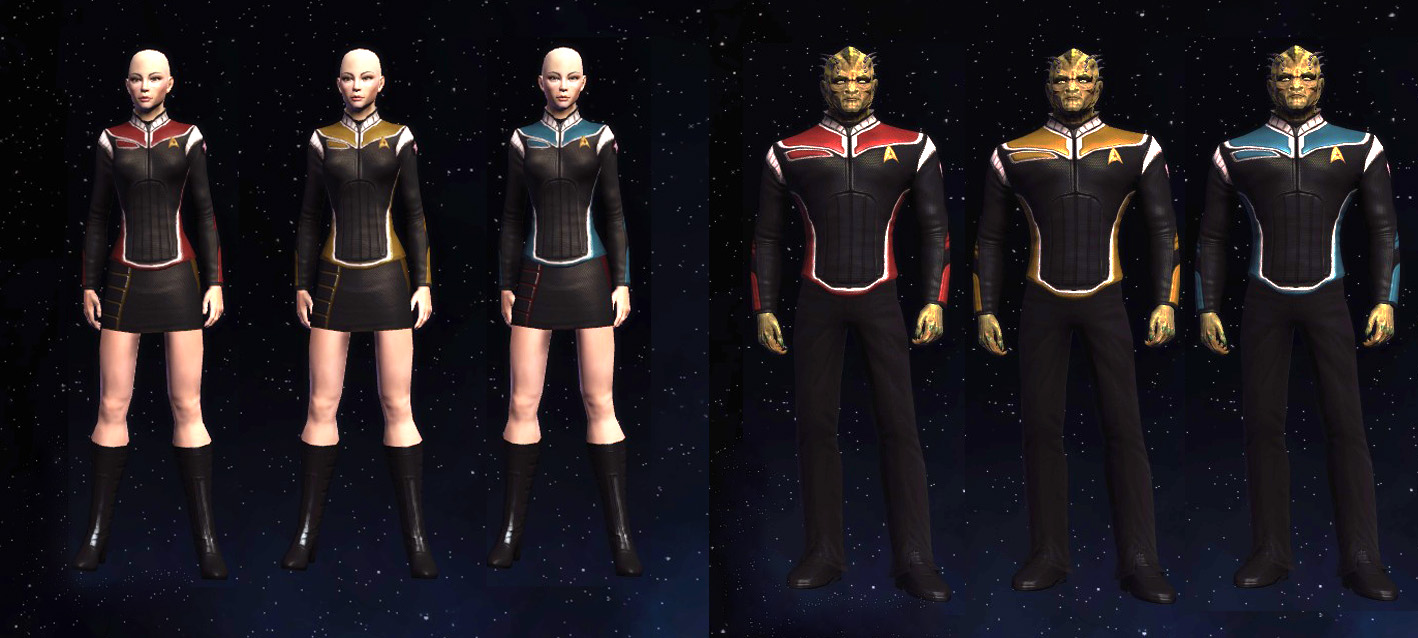 Star Trek Online Uniforms Related Keywords - Star Trek ...